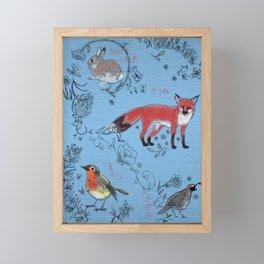 Hide and Seek Forest Framed Mini Art Print