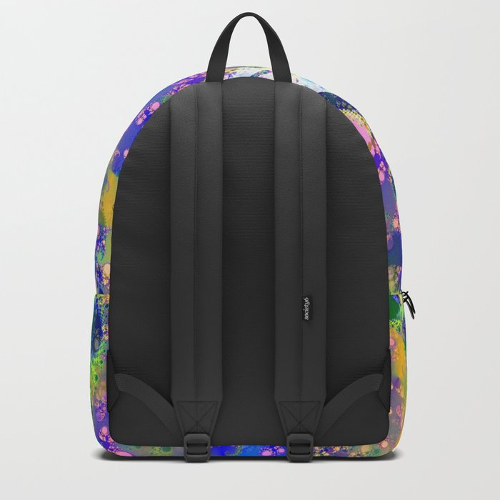Psychedelic Space Backpack