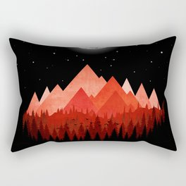 Wolfs road trip Rectangular Pillow