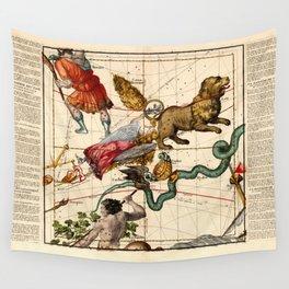 Globi coelestis Plate 4 Wall Tapestry