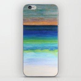 White Beach at Sunset iPhone Skin
