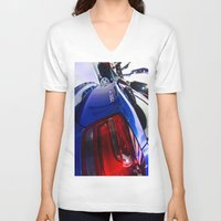 bmw V-neck T-shirts featuring BMW M135i back by Mauricio Santana