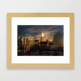 Art-Chitecture Pt 7 Framed Art Print