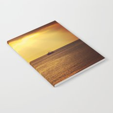 Going Fishing at sunset Notebook