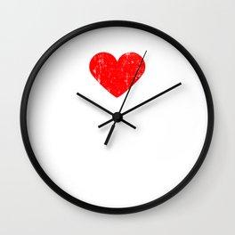 Heart ROCKY ROAD | Love ROCKY ROAD Wall Clock