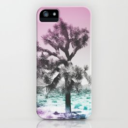 Joshua Tree - Ultraviolet iPhone Case
