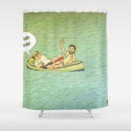 RUM HAM!! Shower Curtain