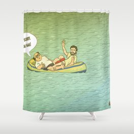 RUM HAM!! Shower Curtain