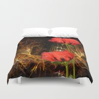 passion Duvet Covers featuring Passion by LudaNayvelt