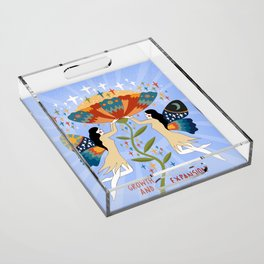 Growth and expansion Acrylic Tray