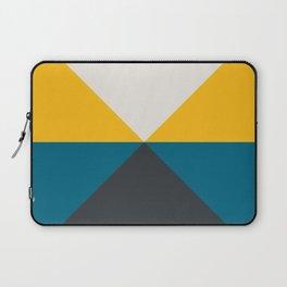 Split X Teal & Yellow Laptop Sleeve