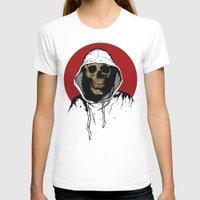 returns T-shirts featuring Skullboy Returns by Matthew Dunn