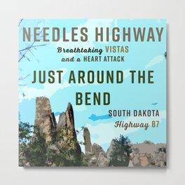 Needles Highway South Dakota Metal Print