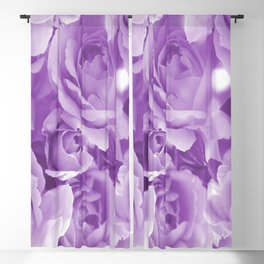 Violet Rose Bouquet For You - Valentine's Day #decor #society6 #homedecor Blackout Curtain