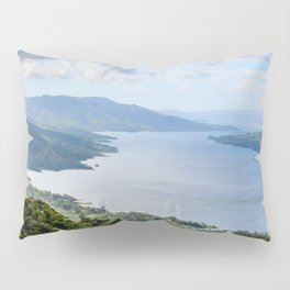 Tropical Vibes Water Mountains Costa Rica Pillow Sham