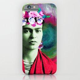 Frida Love's Freeda iPhone Case