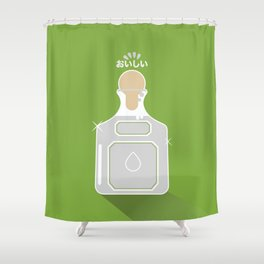 In My Fridge - Tequila Shower Curtain