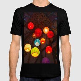 Lights at Mama's Fish House, Maui T-shirt
