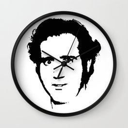 Kaufman pop art Wall Clock