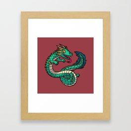 Manda Framed Art Print