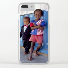 Dressed to Kill Clear iPhone Case