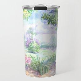 Весенний пейзаж Travel Mug