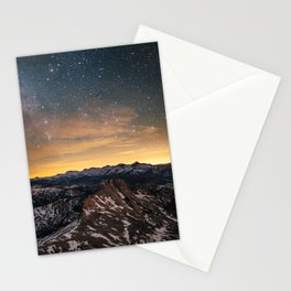 Matthes Crest Night Stationery Cards