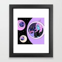 Robin Eisenberg x Francisca Valenzuela Framed Art Print