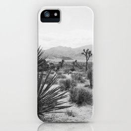 The Place to be in Joshua Tree iPhone Case