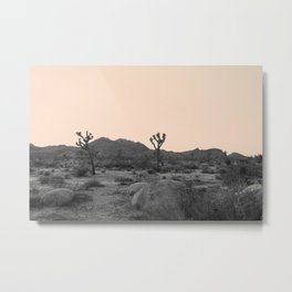 Joshua Tree in Nude Metal Print