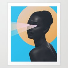 light vision Art Print