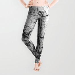 Black Veins Leggings