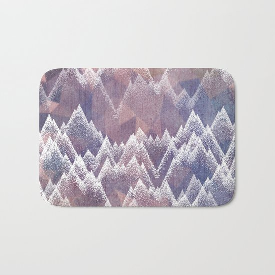Forever Mountains Bath Mat