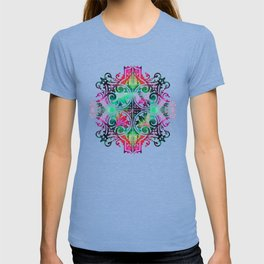 Bright Colorful Pattern Art - Color Fusion Design 10 By Sharon Cummings T-shirt