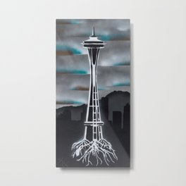Rooted in Seattle 2 Metal Print