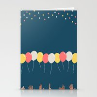 baloon Stationery Cards featuring Baloon by ARIS8