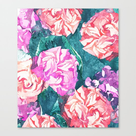 Florals #society6 #decor #lifestyle #fashion #buyart Canvas Print