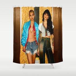 Kehlani x Hayley Kiyoko Shower Curtain