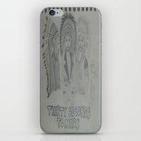 30 seconds to mars iPhone & iPod Skins featuring Thirty Seconds To Mars. by TheArtOfFaithAsylum