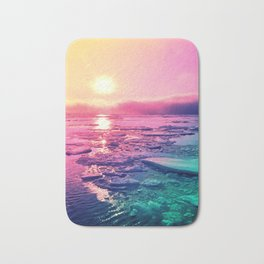 Pastel Sunset Waters Bath Mat