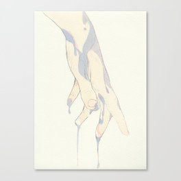 Insaisisable Canvas Print
