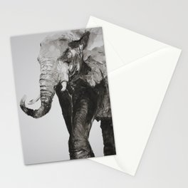 Marching Elephant Stationery Cards