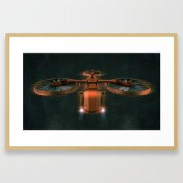 Drone Framed Art Print