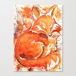 Fox (Spirit of the...) Canvas Print