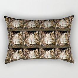 Bouguereau's Angels Surround Cupid Rectangular Pillow