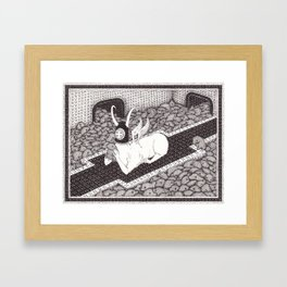 Pal Around Framed Art Print