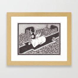 Pal Around Framed Art Print