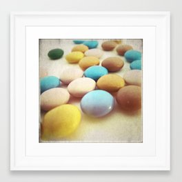 RETRO STYLE CHOCOLATE CANDY PHOTOGRAPH III Framed Art Print