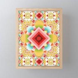 Fiesta Sunburst Framed Mini Art Print
