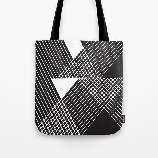 Night Stripes Tote Bag